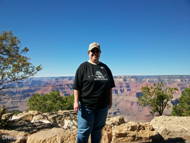 On the South Rim, Grand Canyon 2008