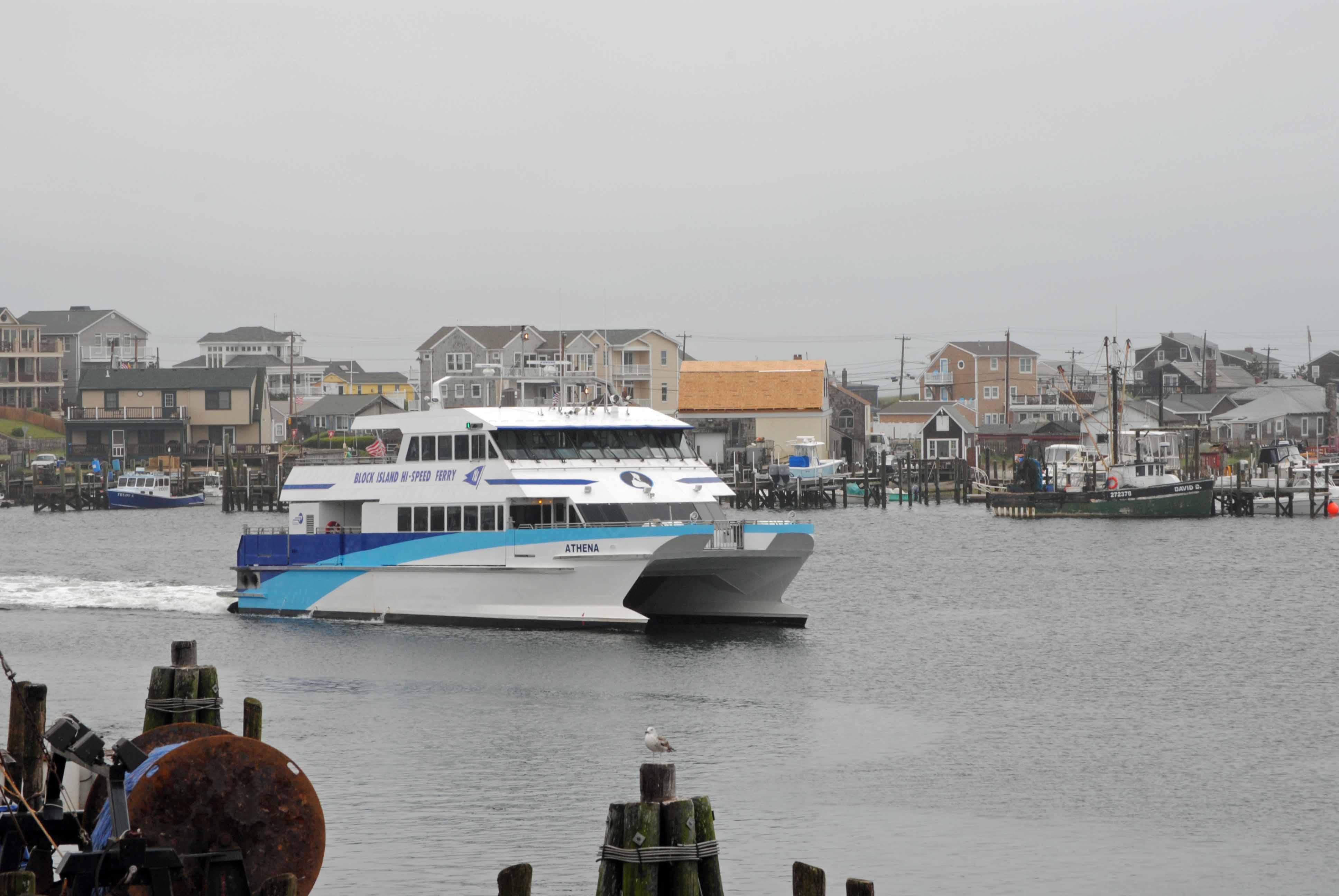 High Speed Ferry To Block Island From Point Judith