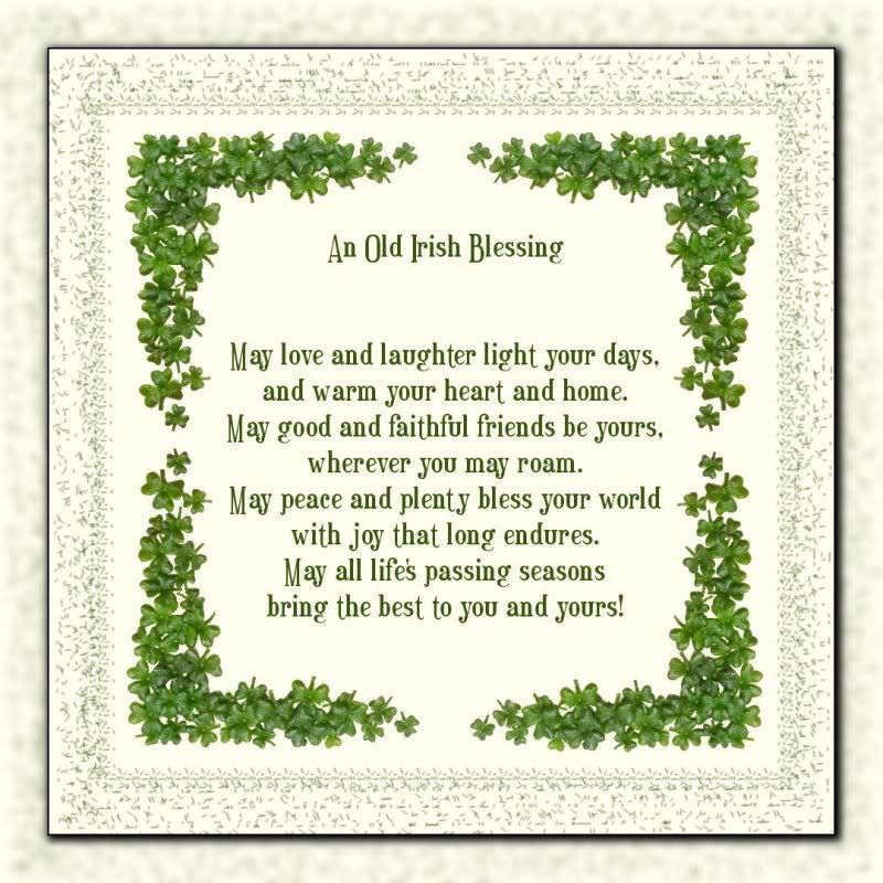 an irish blessing aroundustyroads