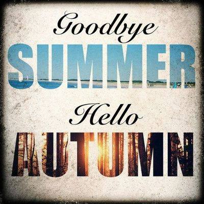 Goodbye Summer Hello Fall Aroundustyroads