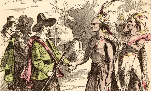 Native-American-Indians-and-pilgrims