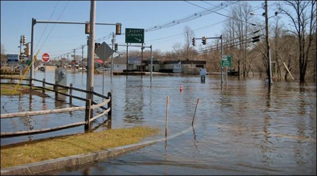 March flood
