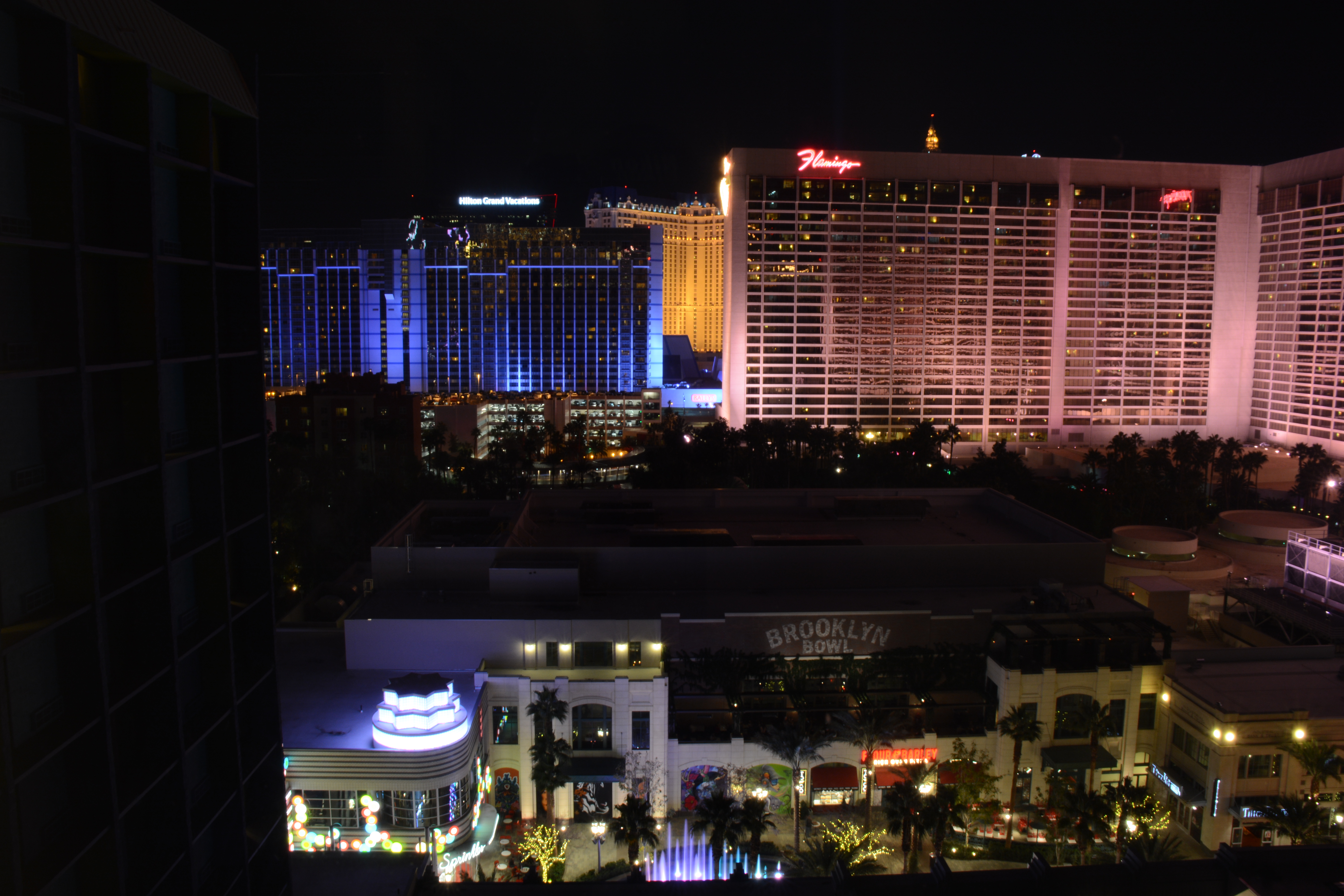 Saturday night in vegas aroundustyroads for 18th floor balcony
