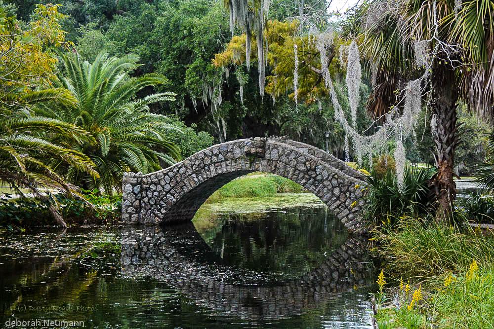 Bayou Bridge , City Park, New Orleans