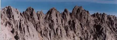 Sawtooth-Ridge-line