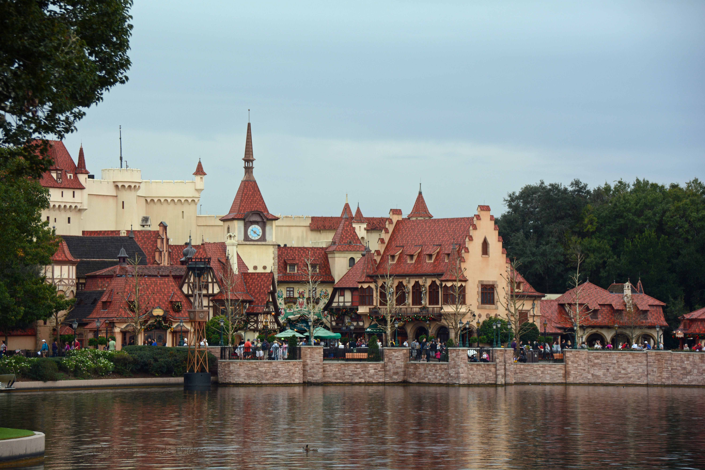 Germany (Epcot). Walt Disney World, Orlando FL
