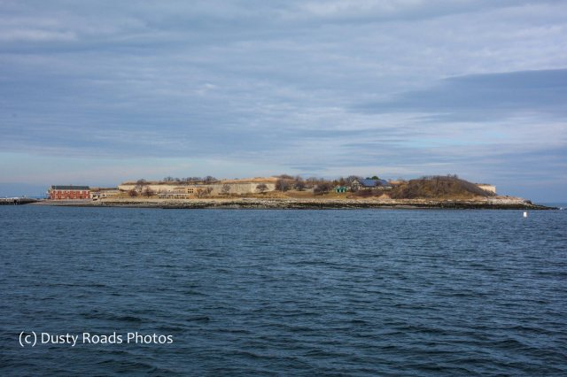 Georges Island, Boston Harbor